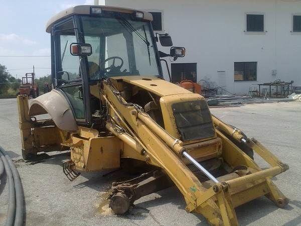 NEW HOLLAND NH95 para peças tractor de ruedas para piezas