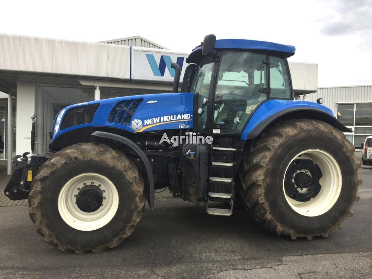 NEW HOLLAND T 8.420 AC tractor de ruedas