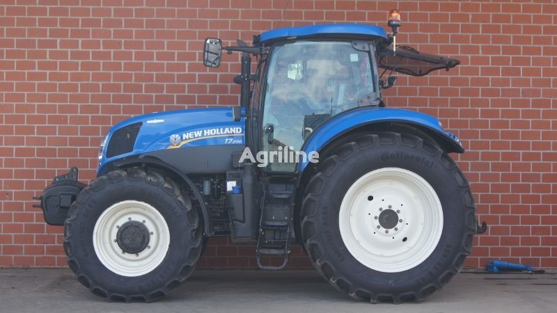 tractor de ruedas NEW HOLLAND T7.200 AC