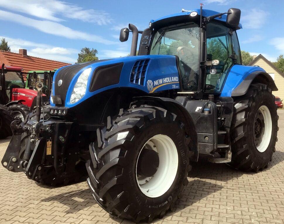 tractor de ruedas NEW HOLLAND T8.390 Allrad Traktor