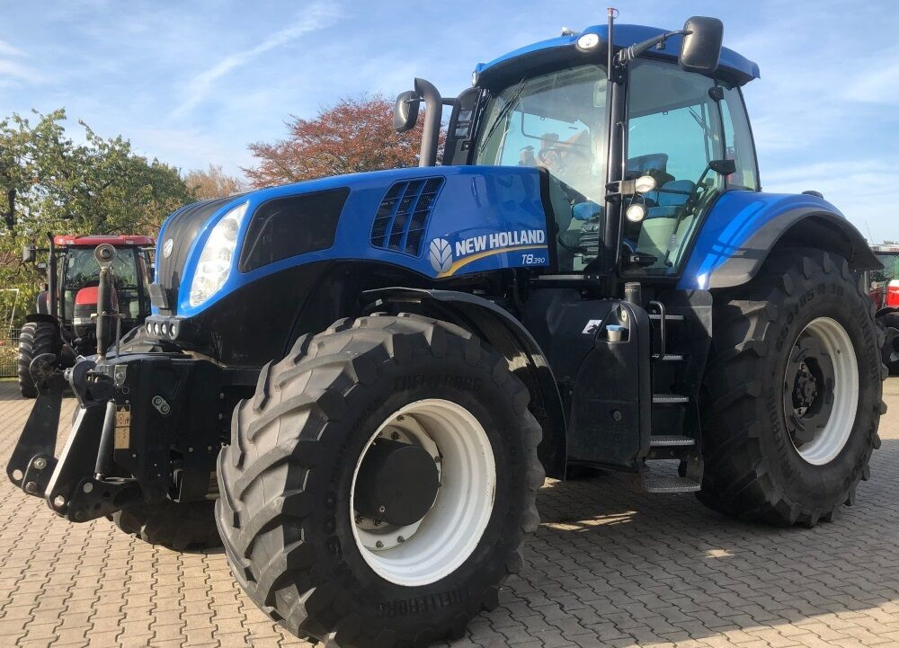 NEW HOLLAND T8.390 Allrad Traktor tractor de ruedas