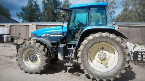 tractor de ruedas NEW HOLLAND TM 190