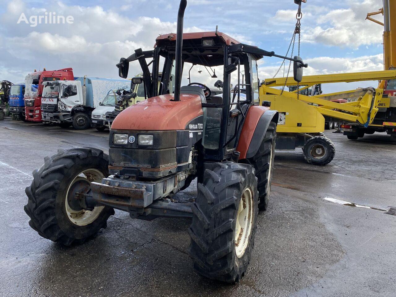NEW HOLLAND TS 100 tractor de ruedas siniestrado