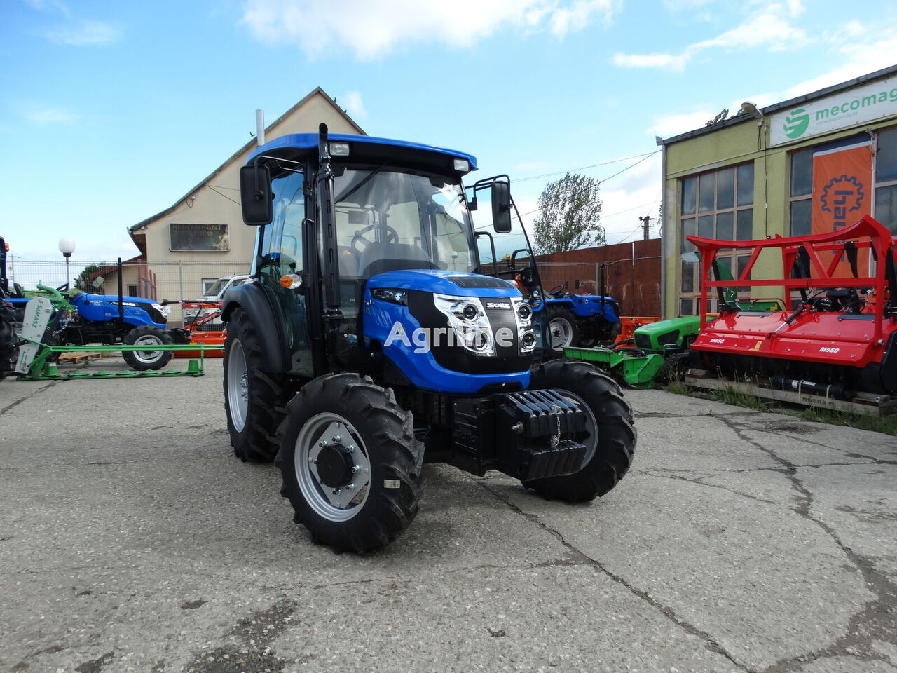 SOLIS 50  tractor de ruedas nuevo