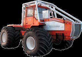 HTA-200-07 tractor de ruedas