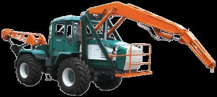 HTA-200-BKM tractor de ruedas