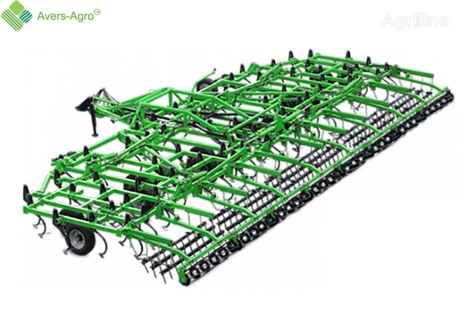 Avers-Agro Kultivator sploshnoy obrabotki Green Scraper 9,5 m vibrocultivador nuevo