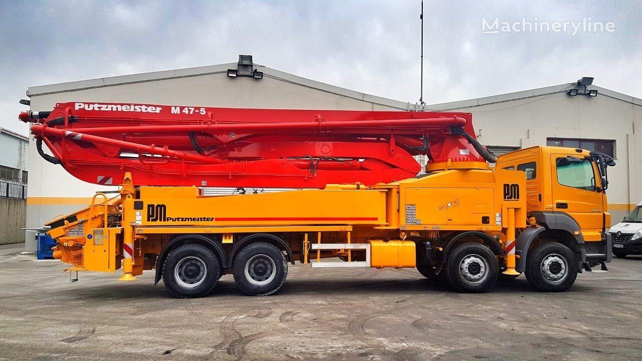 MERCEDES-BENZ Axor 4140 8x4 - Putzmeister 47 Meter Ergonic SPECIAL EDITION bomba de hormigón