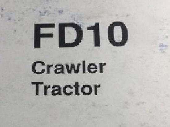 FIAT FD10 (PIEZAS / DESGUACE) bulldozer para piezas