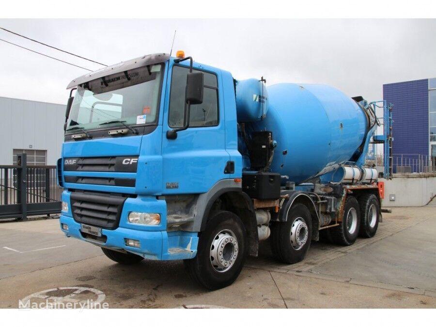 Stetter  en el chasis DAF CF 85.340 STETTER 9M3 camión hormigonera