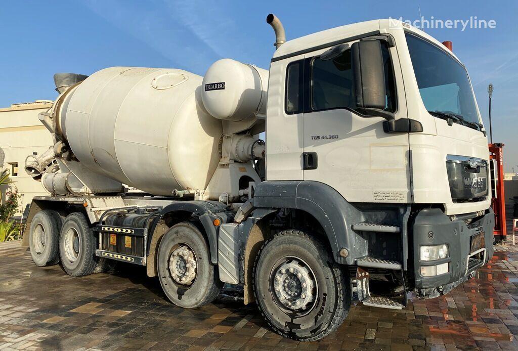 MAN TGS 41.360 camión hormigonera