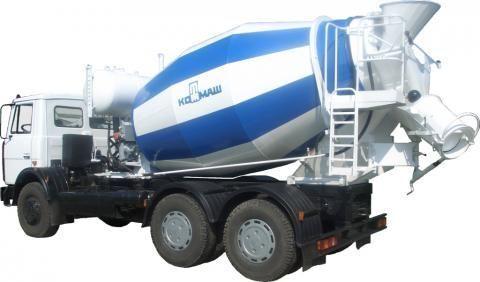 MAZ 6303  camión hormigonera