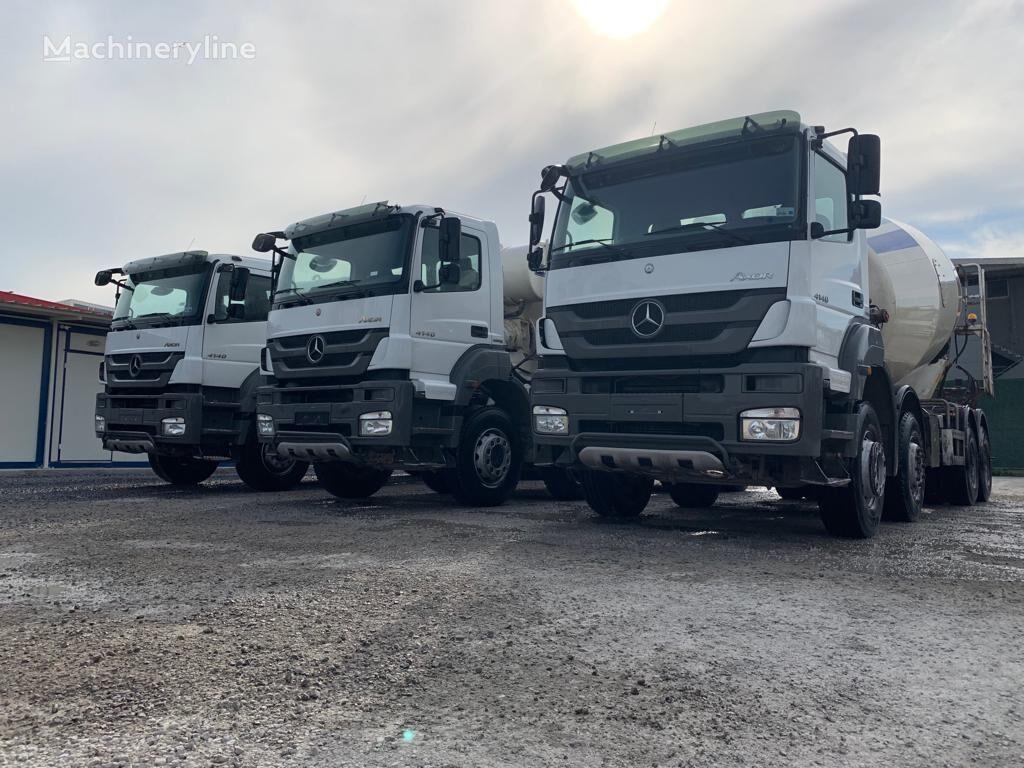 camión hormigonera MERCEDES-BENZ 2015 MODEL 4140 MERCEDES MİXER 12 PİECE READY