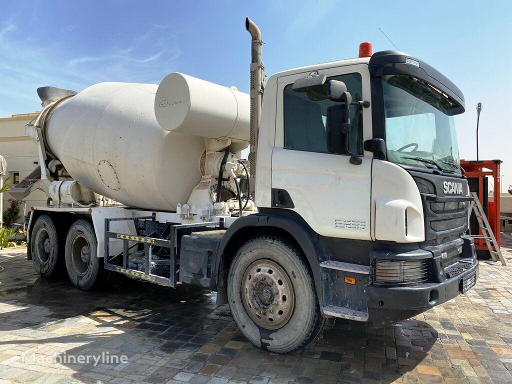 SCANIA p 410 camión hormigonera