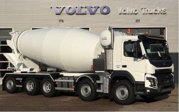 VOLVO Betonmixer15m3 Stetter Hybride camión hormigonera nueva