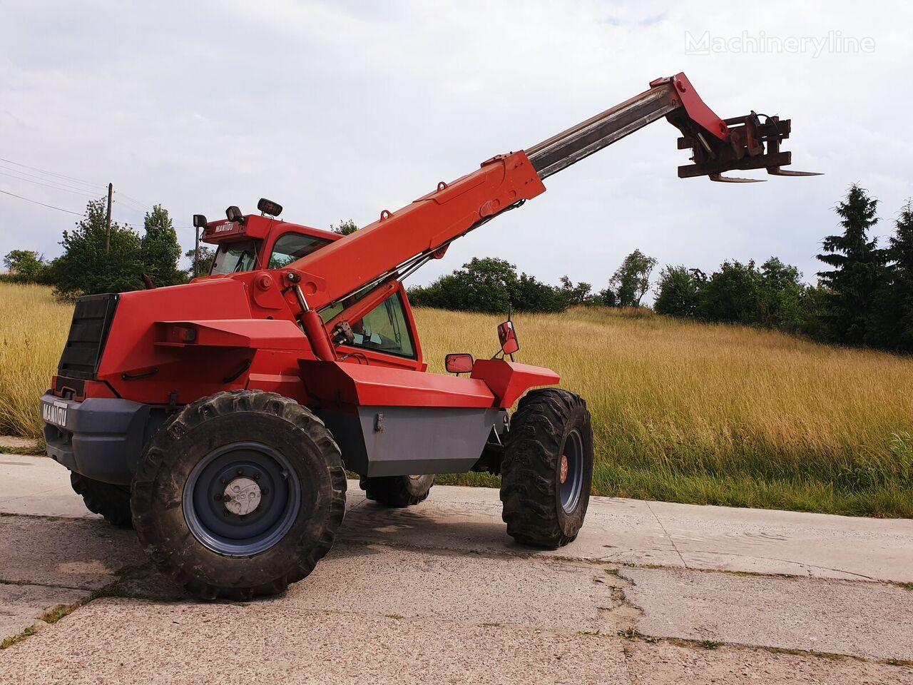 MANITOU MT 728-4 cargadora de ruedas telescópica