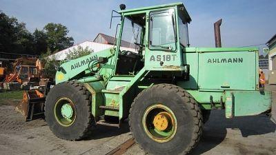 AHLMANN AS 18T cargadora de ruedas
