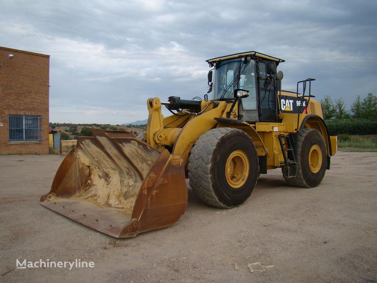 CATERPILLAR 966 K cargadora de ruedas