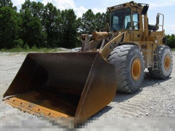 CATERPILLAR 966F cargadora de ruedas