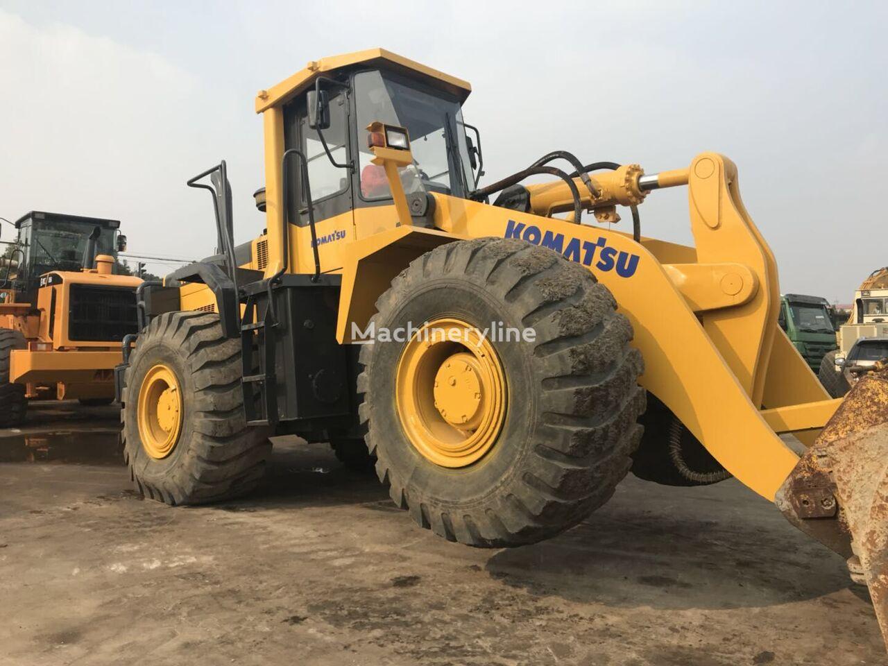 KOMATSU WA470 cargadora de ruedas