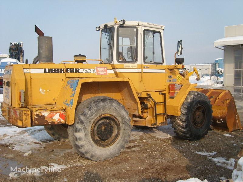 LIEBHERR L531 cargadora de ruedas