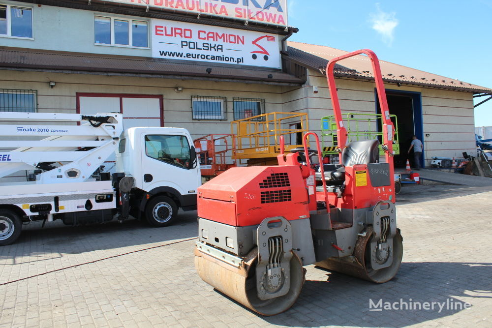 compactador de asfalto BOMAG Walec drogowy gładki BW100ADM-2 bębny 100 cm 1,6 tony ( dynapac
