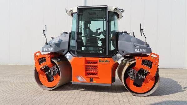 HAMM DV+70i VO-S compactador de asfalto