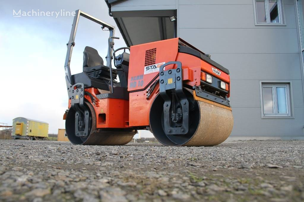 HAMM HD 10 compactador de asfalto