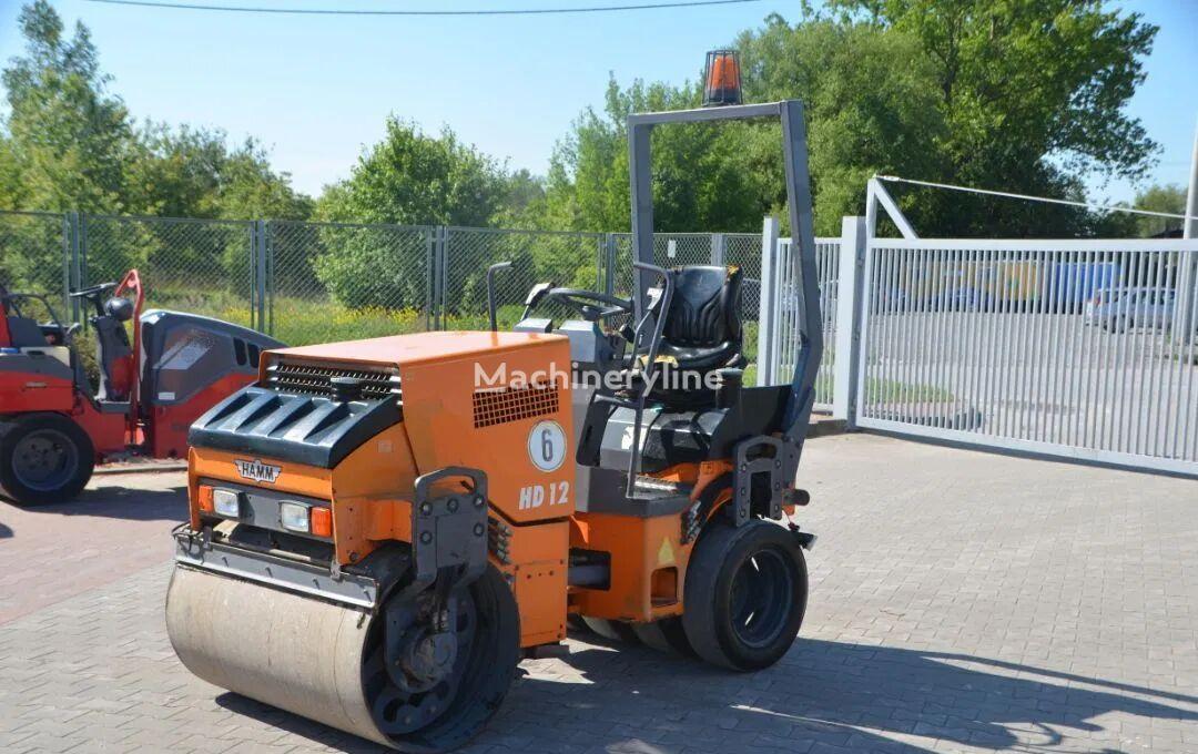 HAMM HD 12 K compactador de asfalto