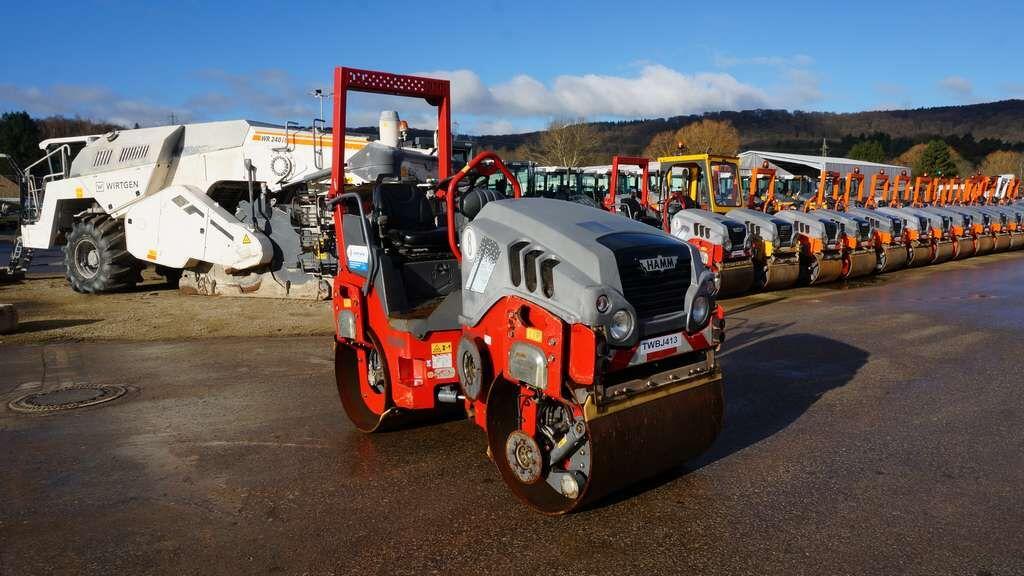 HAMM HD10VV compactador de asfalto