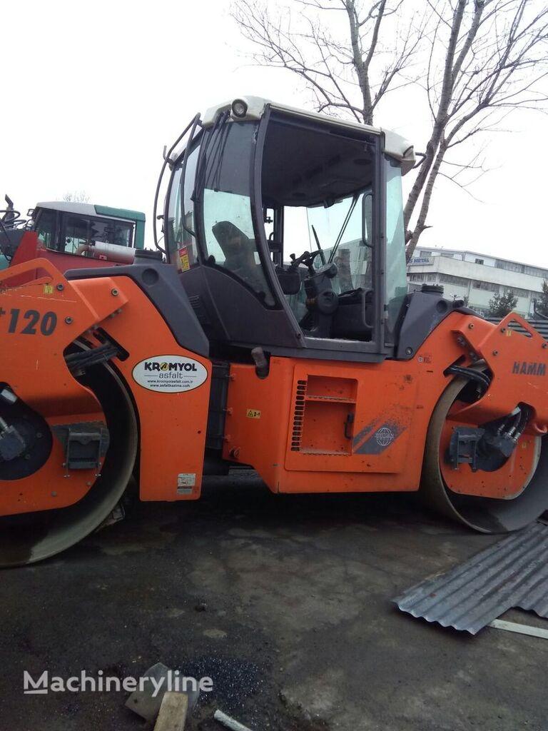 HAMM HD120 compactador de asfalto