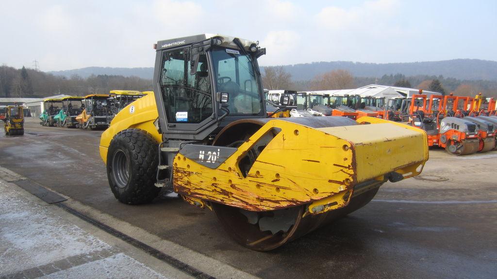 HAMM H 20i compactador de tierra