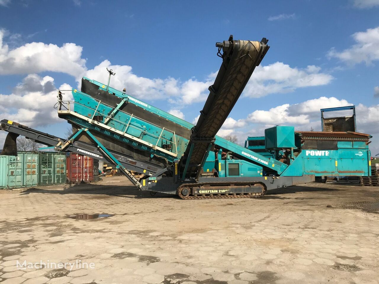 POWERSCREEN Chieftain 2100X criba vibratoria