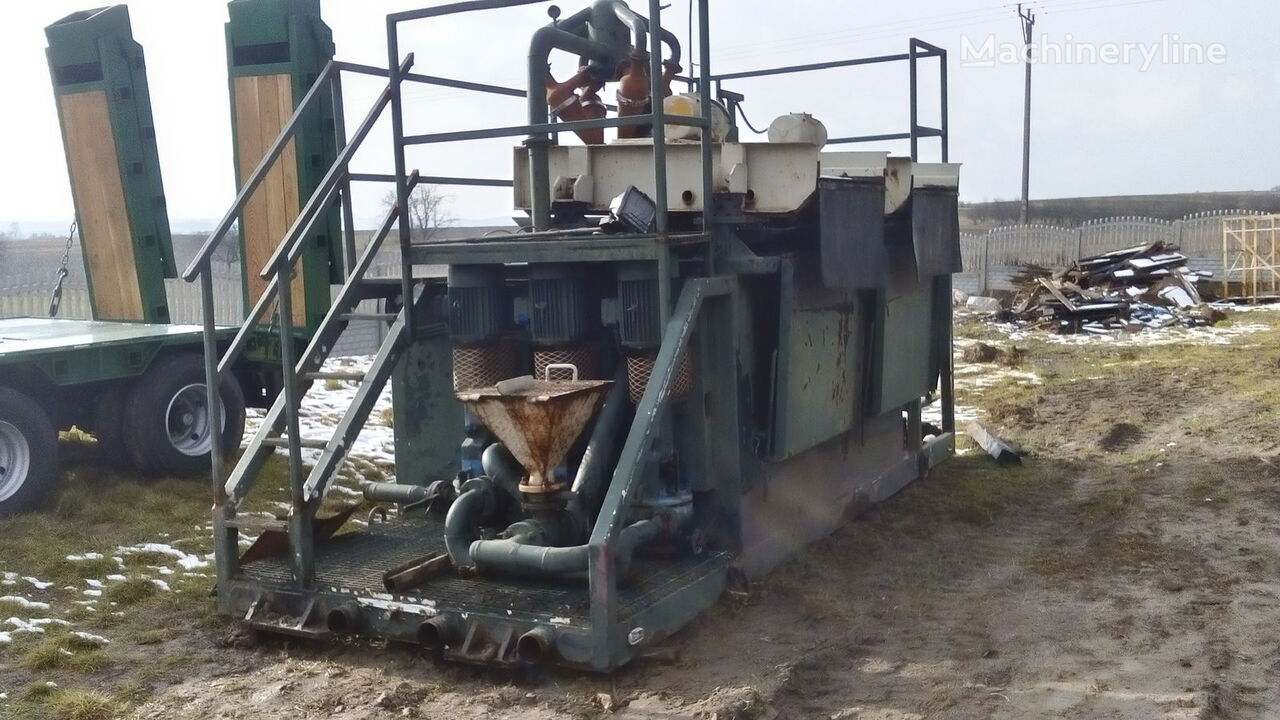 VERMEER  Mud recycling unit Basic Fabrication MCS 260 equipo de perforación