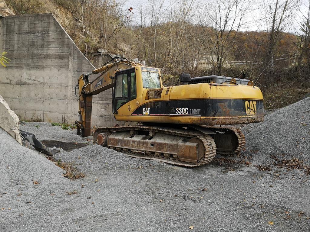 CATERPILLAR 330C excavadora de cadenas