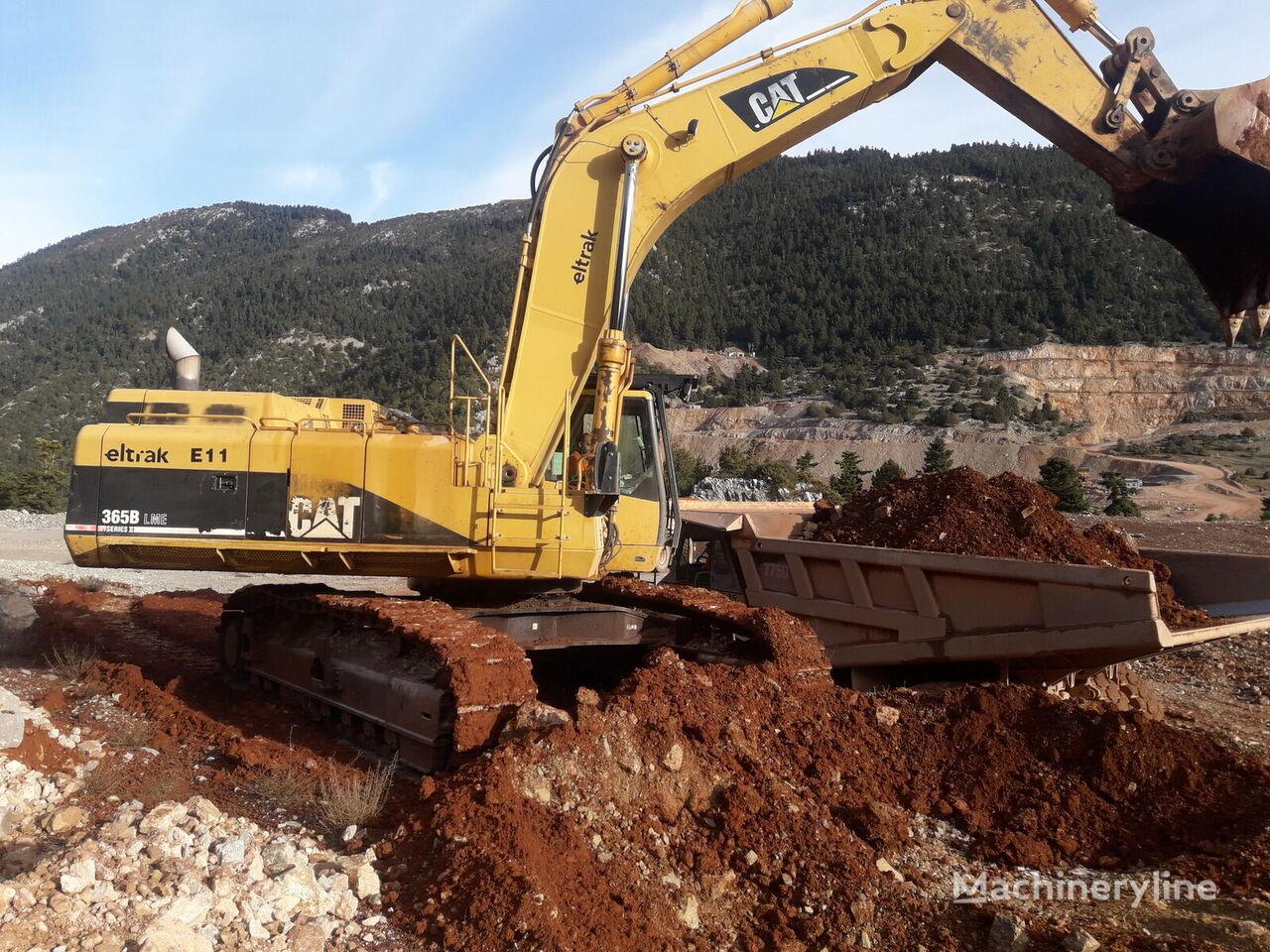 CATERPILLAR 365BLME II excavadora de cadenas