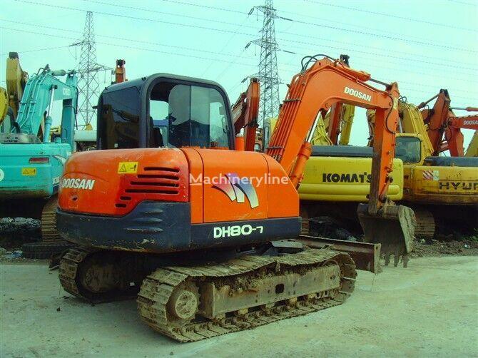DOOSAN DH80-7 excavadora de cadenas