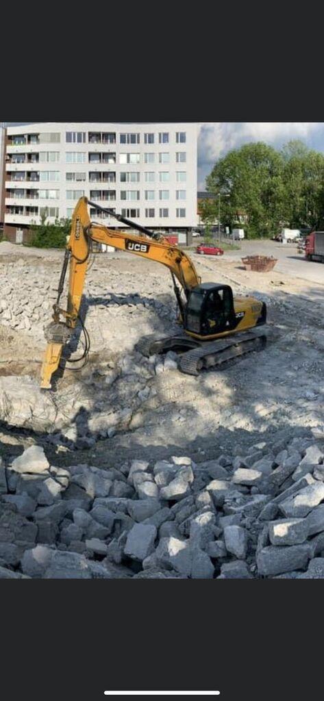 JCB JS 220 excavadora de cadenas