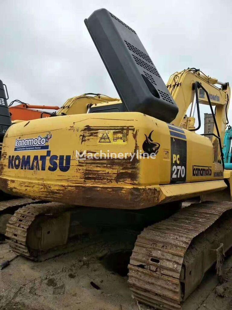 KOMATSU PC270 excavadora de cadenas