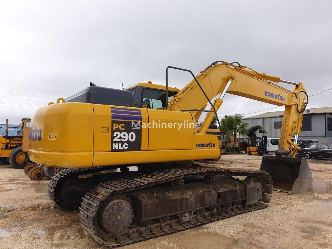 KOMATSU PC290NLC excavadora de cadenas