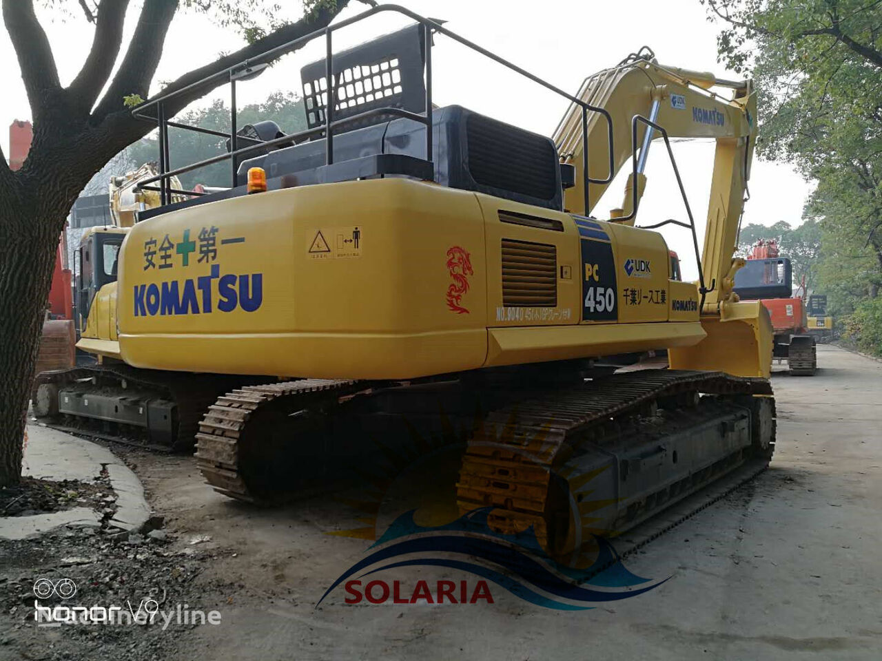 KOMATSU PC450-8 excavadora de cadenas
