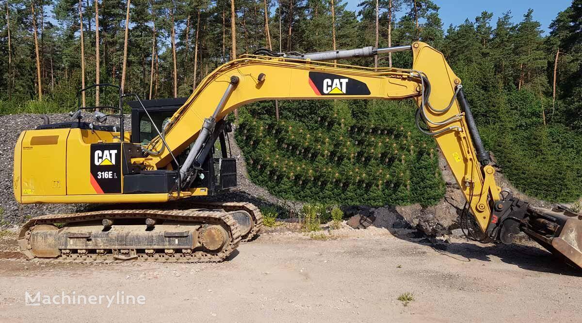 CATERPILLAR 316 EL excavadora de orugas