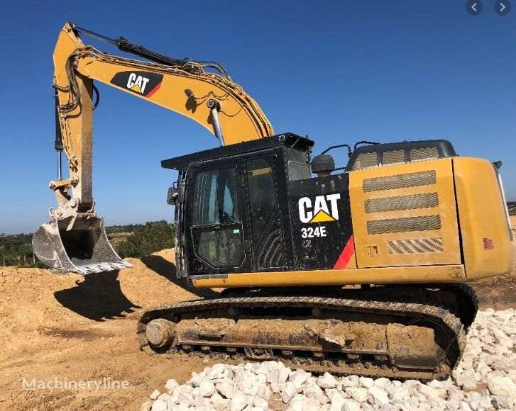 CATERPILLAR 324E LN, 2011 excavadora de orugas