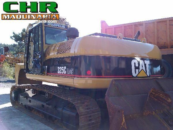 CATERPILLAR 325C excavadora de orugas