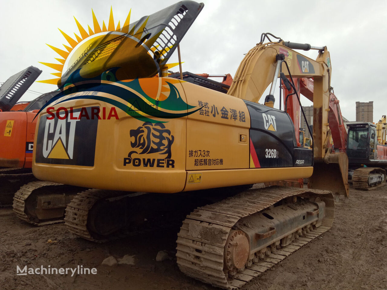CATERPILLAR 326D excavadora de orugas