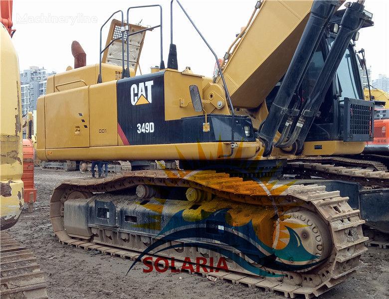 CATERPILLAR 349D excavadora de orugas