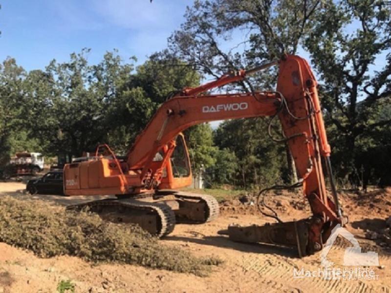 excavadora de orugas DAEWOO SL 220 N-V