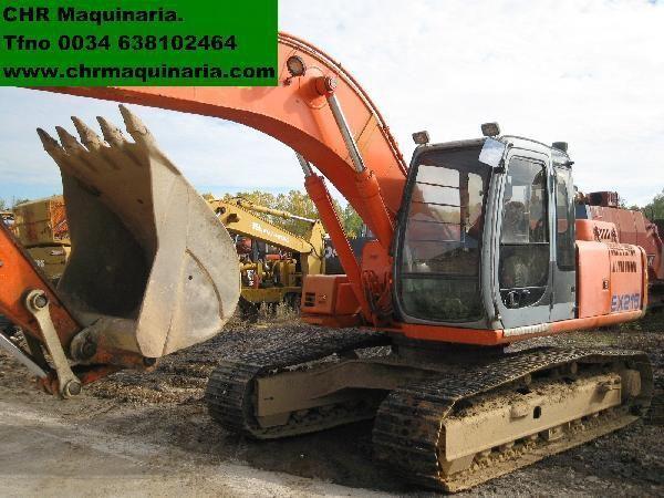 FIAT-HITACHI EX255 excavadora de orugas