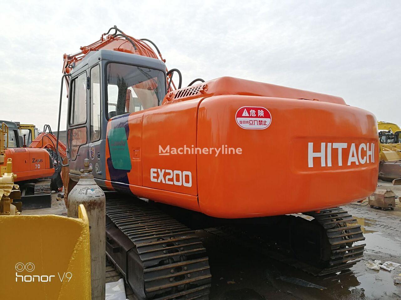 HITACHI EX200 excavadora de orugas