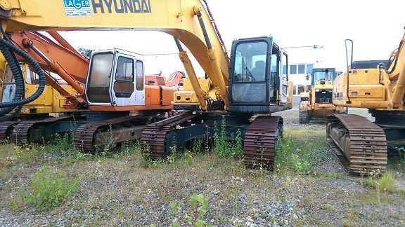 HYUNDAI R290NLC-7 excavadora de orugas